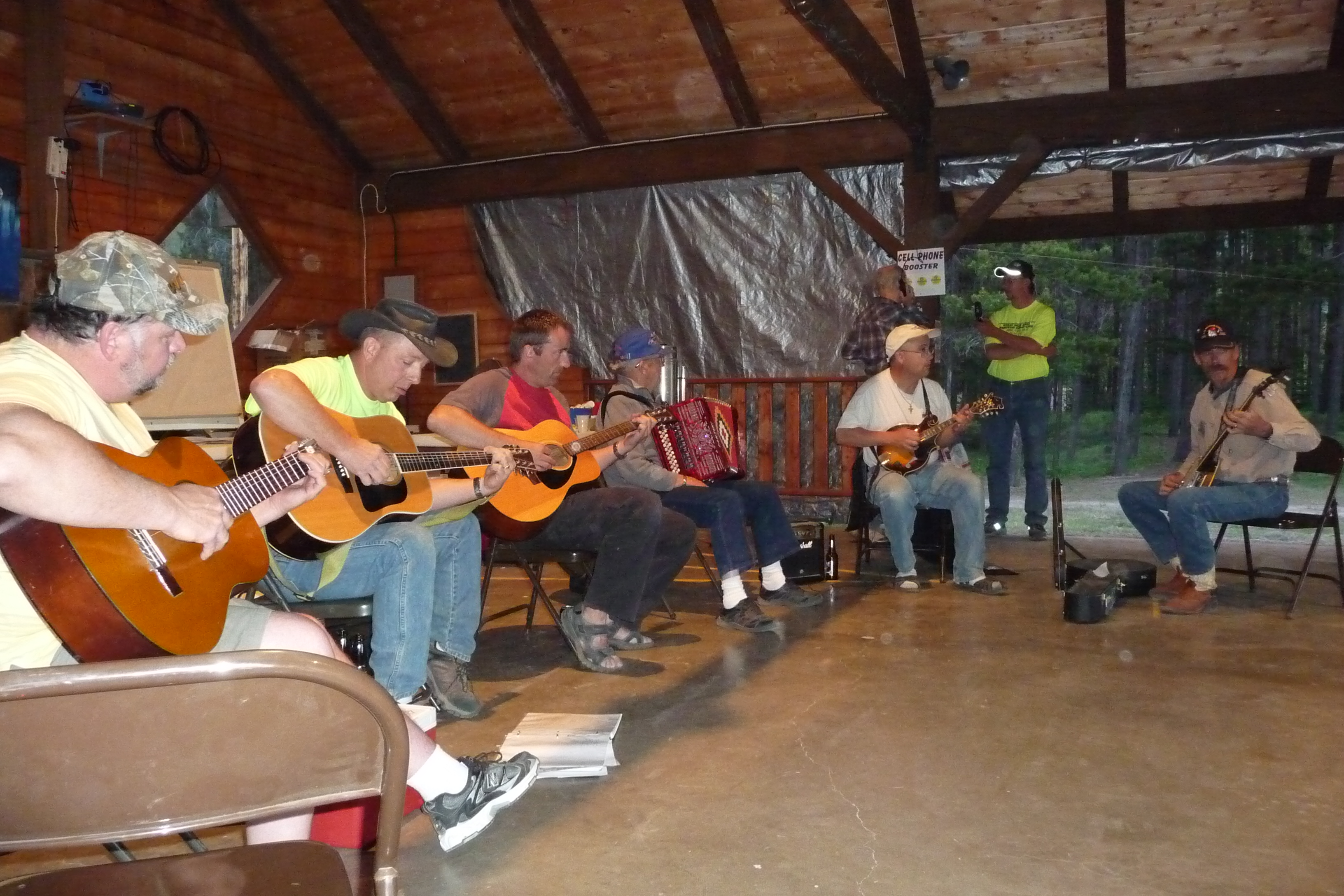 2010 GW Hamfest Music on Saturday night