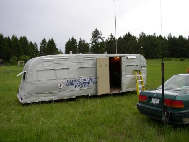 The old club trailer