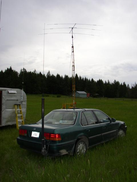 K7AH mobile station