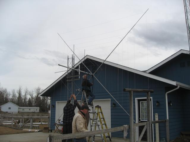 Attaching Driven Element to Mast